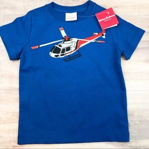 NWT HANNA ANDERSSON size 110 helicopter T-shirt